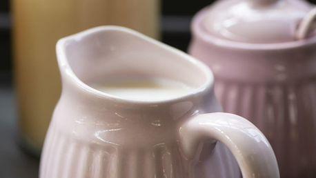 IB LAURSEN Džbánek na smetanu Mynte English Rose, růžová barva, keramika