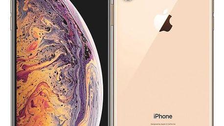 Mobilní telefon Apple iPhone Xs Max 64 GB - gold (MT522CN/A) + DOPRAVA ZDARMA