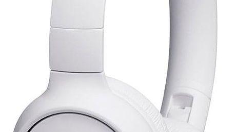 Sluchátka JBL Tune 500BT bílá