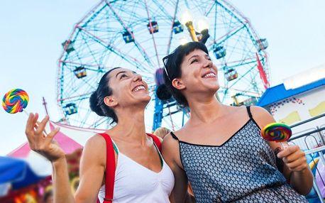 Červenec v zábavním parku Heide Park v Německu včetně vstupenky