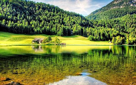 Tyrolské Alpy v hotelu u střediska Kitzbühel s polopenzí a dalšími turistickými bonusy