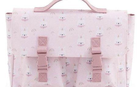 EEF lillemor Školní aktovka Circus Schoolbag Bunny, růžová barva, plast