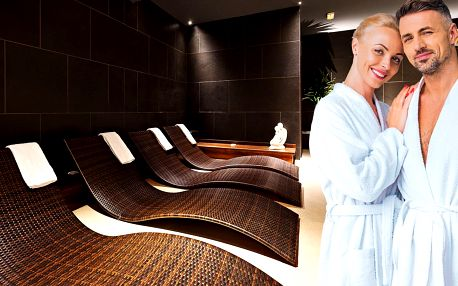 Romantika pro 2: privátní wellness, masáž i sekt