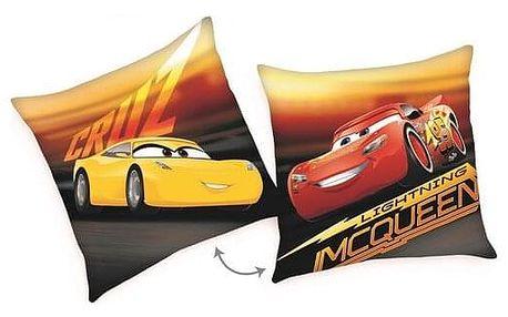 Herding Polštářek Cars McQueen Cruz, 40 x 40 cm