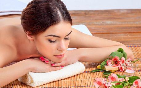 Aroma či terapeutická masáž na 30–90 minut