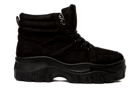 Dámské černé kotníkové boty Nawra 1837