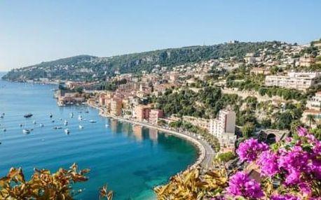 5-denní zájezd - Za parfémy a kláštery do Provence a na Azurové pobřeží