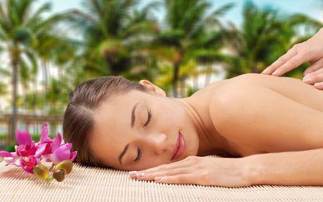 Zažijte Havaj v Želešicích: masáž pro 1 i pro pár