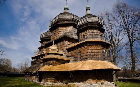 Krakov, Lvov a Podkarpatská Rus - 9 dní poznání s dopravou, ubytováním a snídaní
