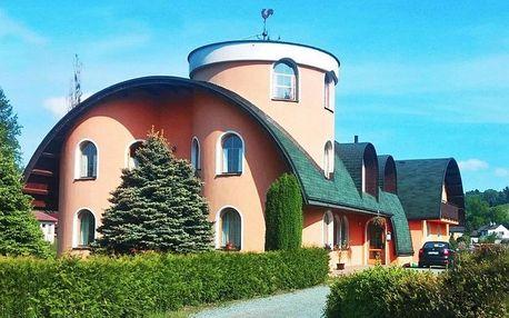 Pohoda pro dva nedaleko Adršpachu se snídaní
