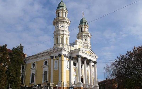 Krakov, Lvov a Podkarpatská Rus - 9 dní poznání s dopravou, ubytováním a snídaní2