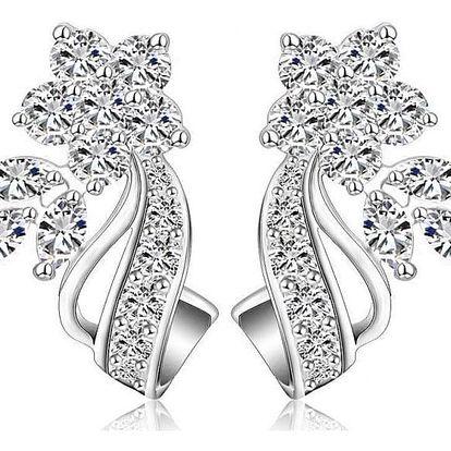 Náušnice nebo set šperků se zirkony a rakouskými krystaly