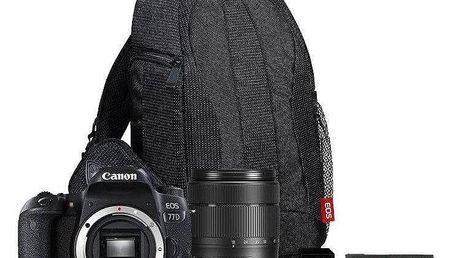 Canon EOS 77D + 18-135 IS USM + VUK černý (1892C034)
