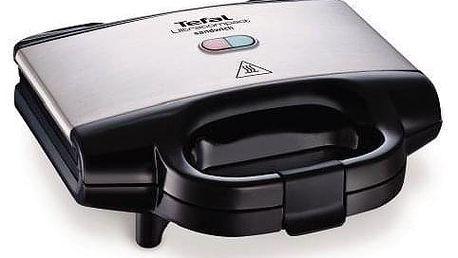 Sendvičovač Tefal Ultra Compact SM157236 černý/chrom