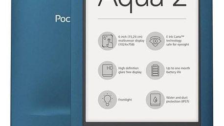 Pocket Book 641 Aqua 2 modrá (PB641-A-WW)