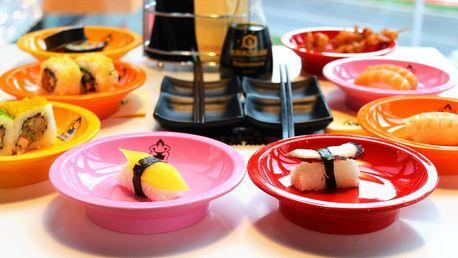 Running sushi v Letňanech: 2hodinové all you can eat