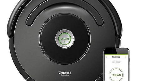 Vysavač robotický iRobot Roomba 676 šedý