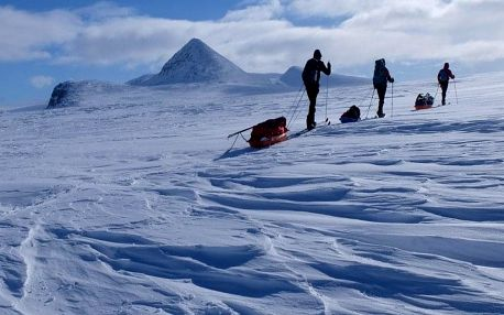 Laponsko na běžkách