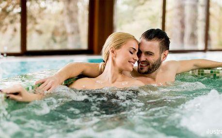Privátní wellness pro 2: hodina v sauně a vířivce
