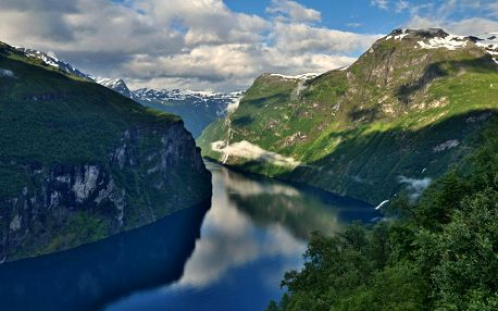 Prázdniny u Vikingů - 10 denní poznávací zájezd s polopenzí a ubytováním