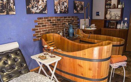 Poděbrady výběrem ubytování ze tří hotelů v duchu Postřižin s pivním wellness a snídaní