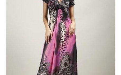 Dámské letní šaty v plus size velikostech - 6 barev