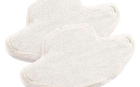 ECG PM 3151 náhradní podušky k parnímu mopu, 2ks