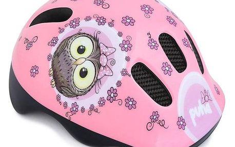 Spokey PUHA Dětská cyklistická přilba, 44-48 cm