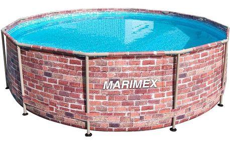 Marimex Bazén Florida 3,66x0,99 m bez filtrace - motiv CIHLA - 10340243
