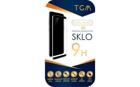 Ochranné sklo TGM 3D pro Samsung Galaxy S8+ černé (TGM-SM-S8P)
