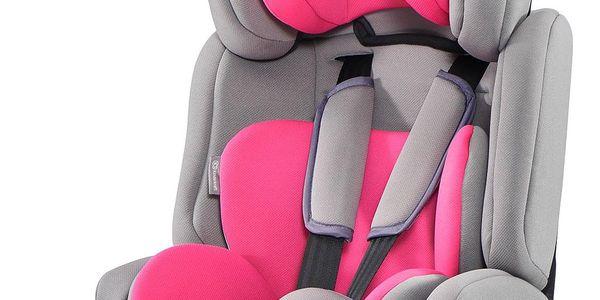 KINDERKRAFT Comfort Up (9-36 kg) Autosedačka – Pink