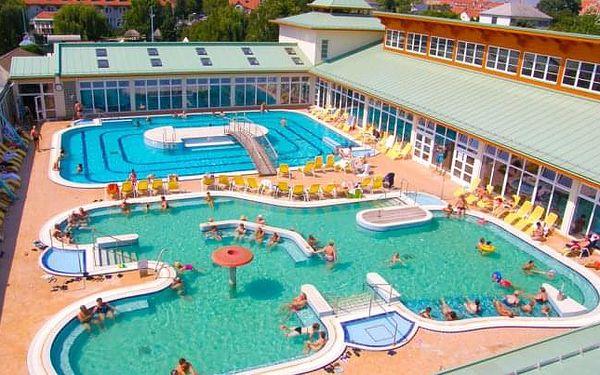Mosonmagyaróvár: Thermal Hotel Superior *** s wellness a jen 50 m od lázní
