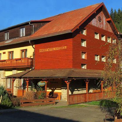 Horský hotel Kyčerka na Valašsku s polopenzí, i o Velikonocích