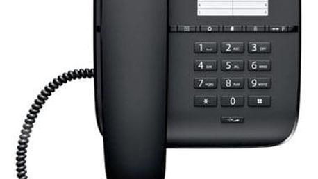 Domácí telefon Siemens Gigaset DA310 černý (S30054-S6528-R601)