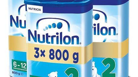 3x NUTRILON 2 (800g) - kojenecké mléko