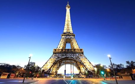 Francie - Paříž na 4 dny, snídaně s dopravou autobusem