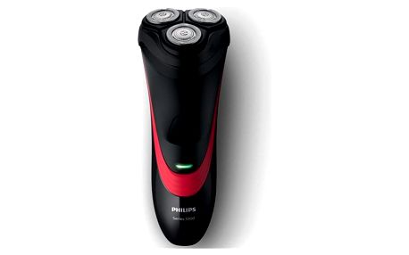 Holicí strojek Philips Series 1000 S1310/04 černý/červený