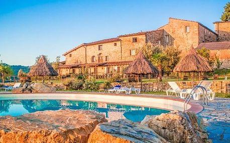 Toskánsko: 4 i 5 dní ve vile Fattoria Il Santo s bazénem + ochutnávka specialit