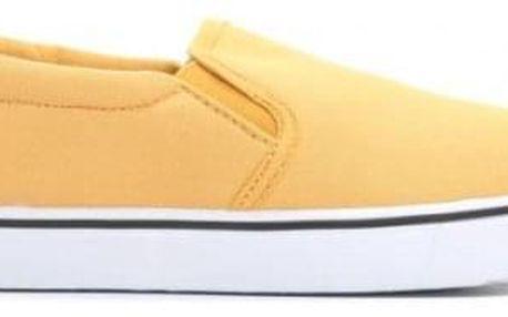 Dámské žluté slip on tenisky Rabi 116