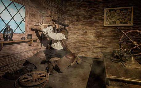 Úniková hra: Špionem na lodi Kryštofa Kolumba