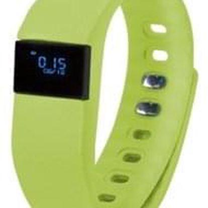 Fitness náramek GoClever SMART BAND zelený (GCWSBG)