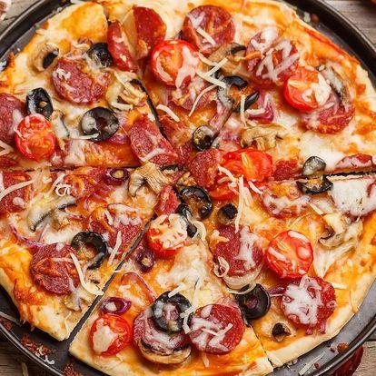 1 nebo 2 pizzy v Polabinách, průměr 40 cm