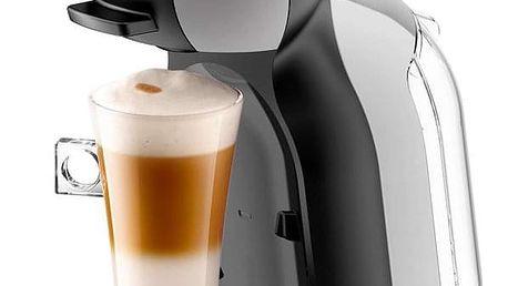Espresso Krups NESCAFÉ Dolce Gusto Mini Me PF KP123B31 šedé + dárek Kapsle pro espressa NESCAFÉ Dolce Gusto® Latte Macchiatto BOX