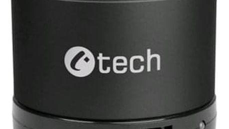 Přenosný reproduktor C-Tech SPK-04B černý (SPK-04B)