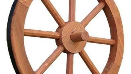 Garthen Ghana 236 Dřevěné kolo 35 cm - stylová rustikální dekorace