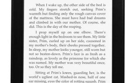 Čtečka e-knih Amazon KINDLE PAPERWHITE 3 2015 s reklamou černá