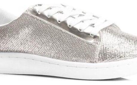 Dámské tenisky Isler 8109 stříbrné
