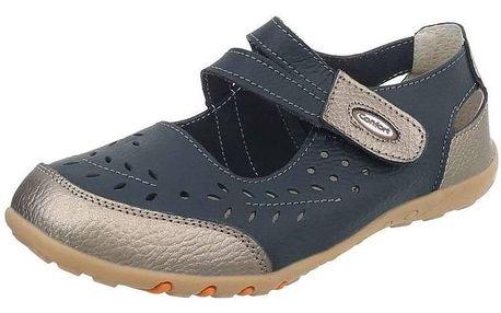 Dámské kožené volnočasové boty
