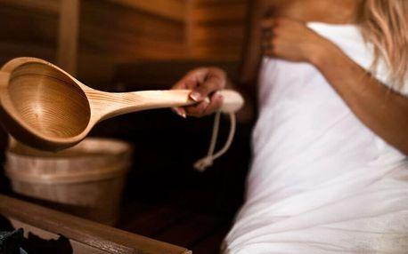 110 minut v privátní finské sauně až pro 4 osoby