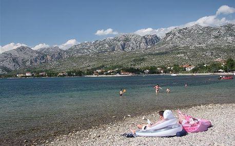 Jízdenka - Paklenica, Dalmácie, Chorvatsko, autobusem, bez stravy